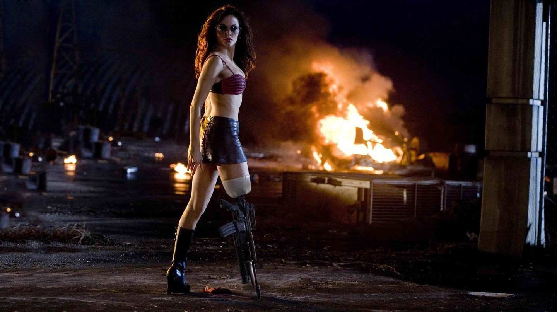 Rose McGowan in 'Planet Terror'