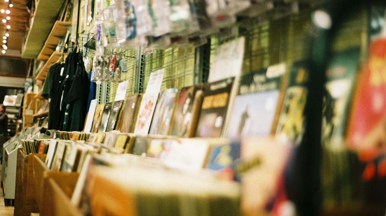 Vintage Vinyl Store in Berlin