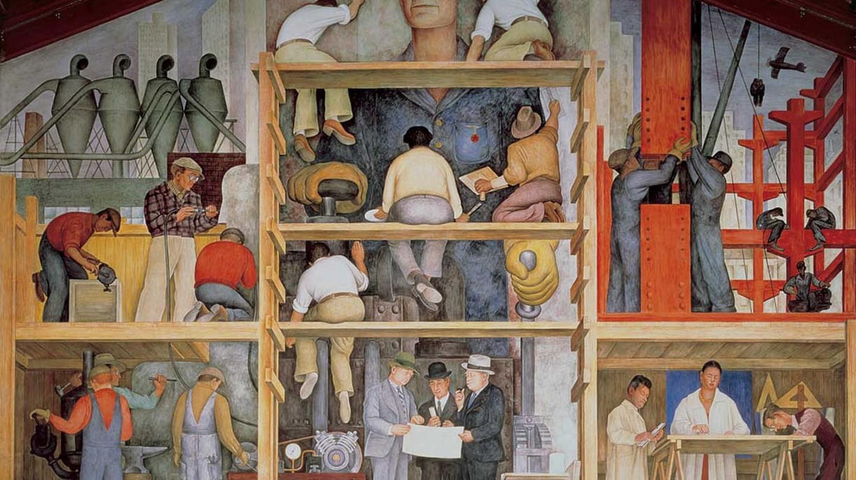Diego Rivera, Making a Fresco, 1931