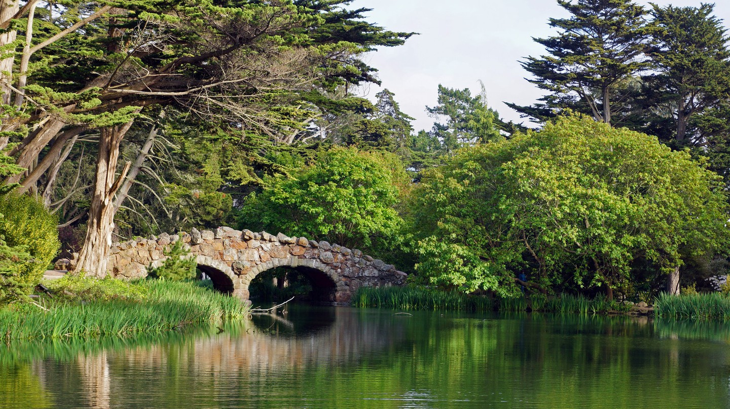 Stow Lake at Golden Gate Park