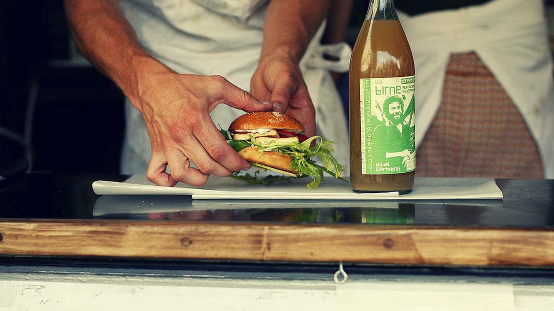 Delicious Vegan Burger