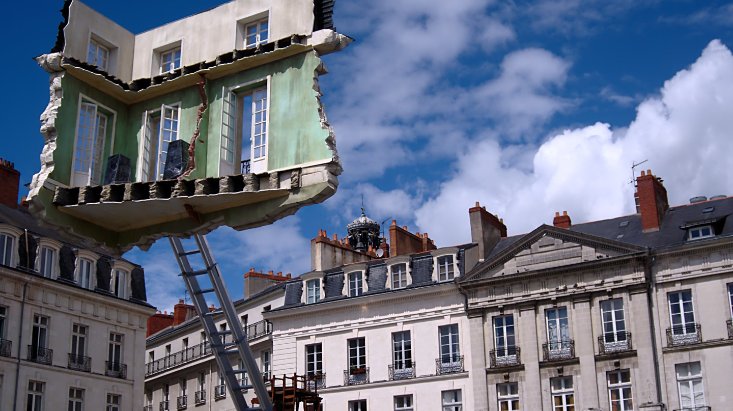 Unique street art installations at the Voyage á Nantes