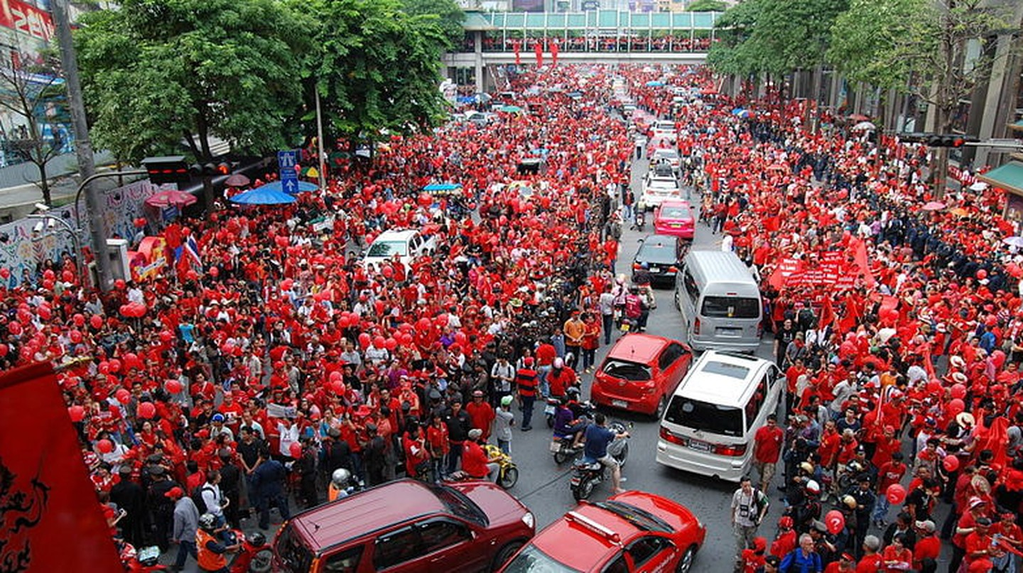 Thailand's red shirts | © Takeaway / WikiCommons