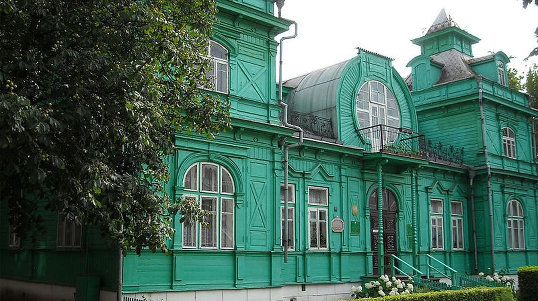 Green Library, Babruysk   © Andrei Kuzmin  / WikiCommons