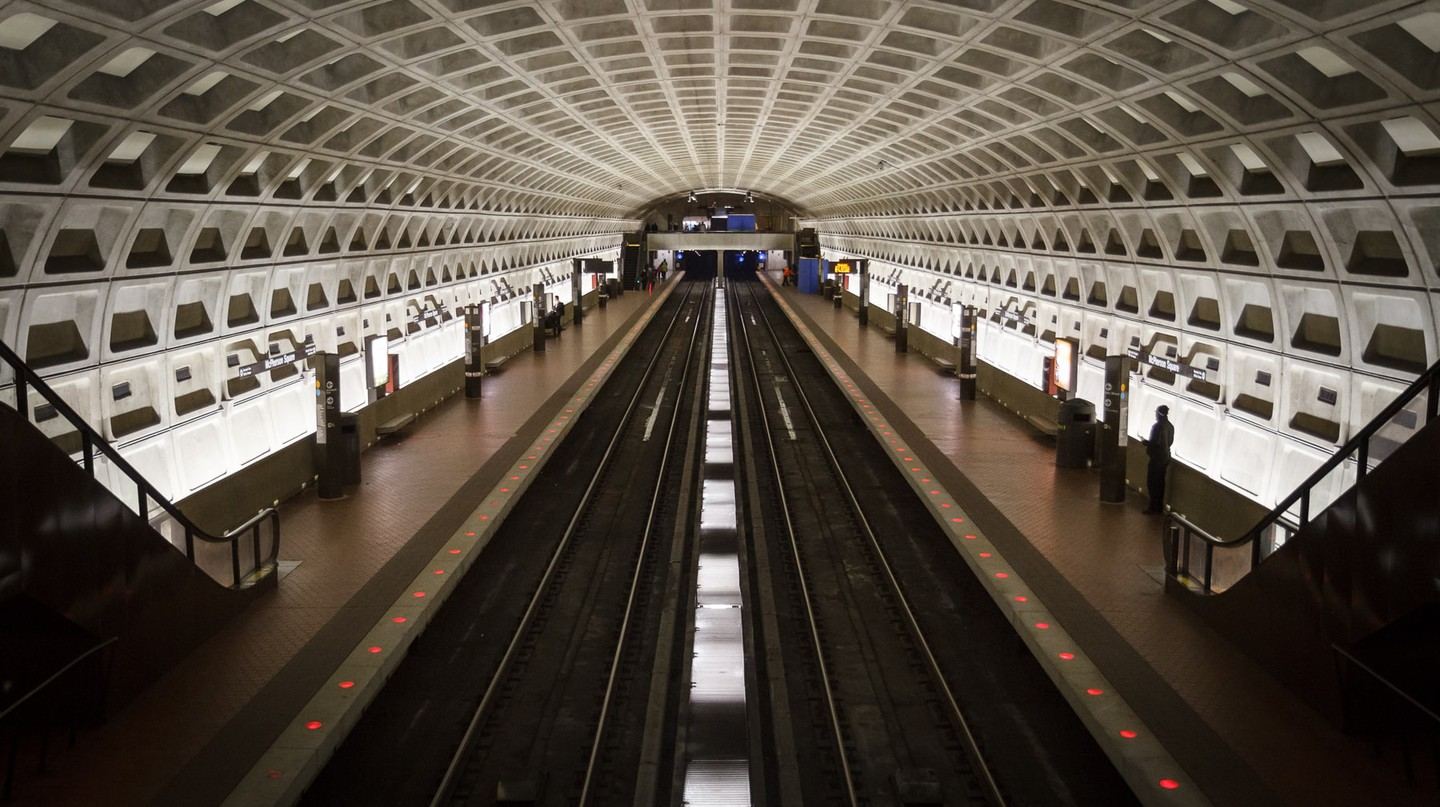 D.C. has a prolific, affordable mass transit system | © Adam Foster / Flickr