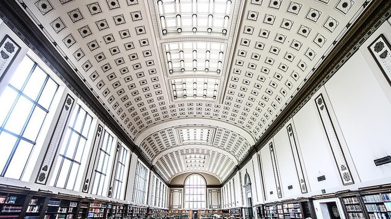 The University of California at Berkeley's Doe Library