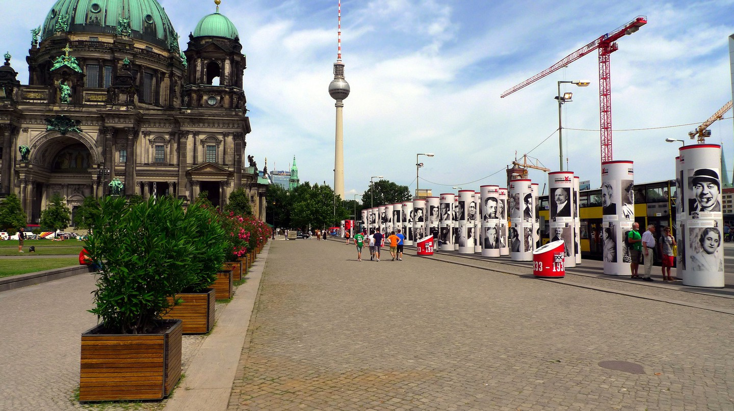 Berliner Dom and TV Tower in Berlin