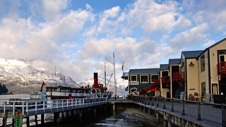 Steamer Wharf, Queenstown
