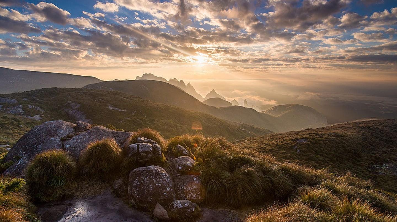 The views across the Serra dos Órgãos national park