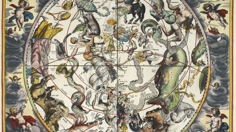 Andreas Cellarius, Atlas Coelestis, 1660