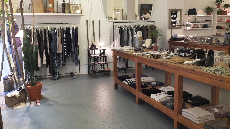 Bagni Paloma concept store in Turin |
