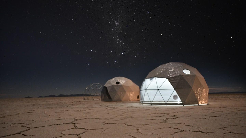 Salar de Uyuni Blink Dome