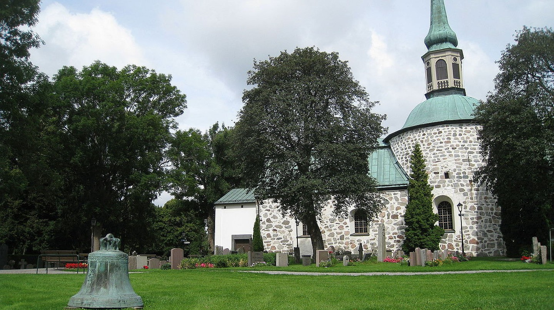 The beautiful Bromma Church | © Bysmon / WikiCommons