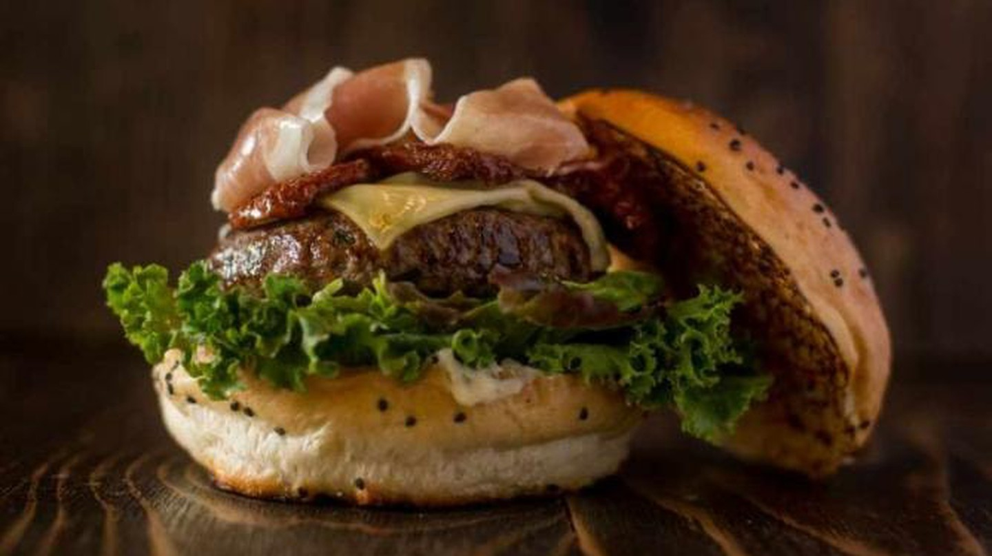 Davis Burger | Courtesy of Butcher and Sons