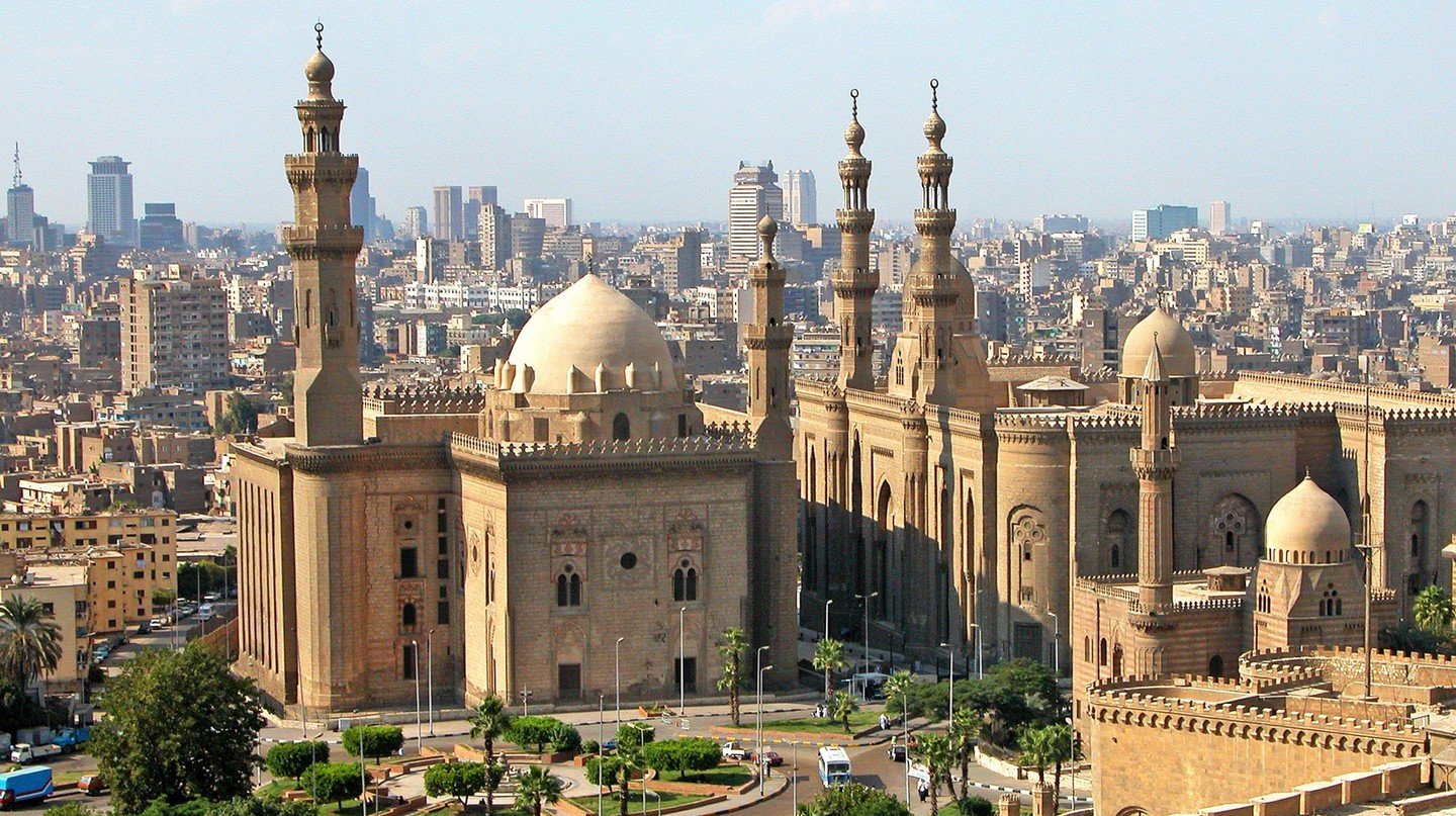 The Mosque-Madrassa of Sultan Hassan in Old Cairo