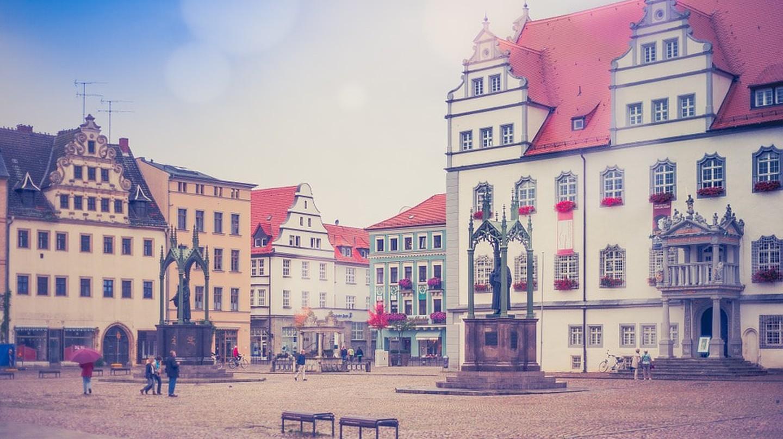Wittenberg market square | © Nikiko / Pixabay