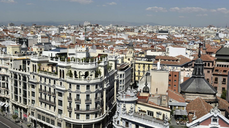 The view from the Azotea de Bellas Artes