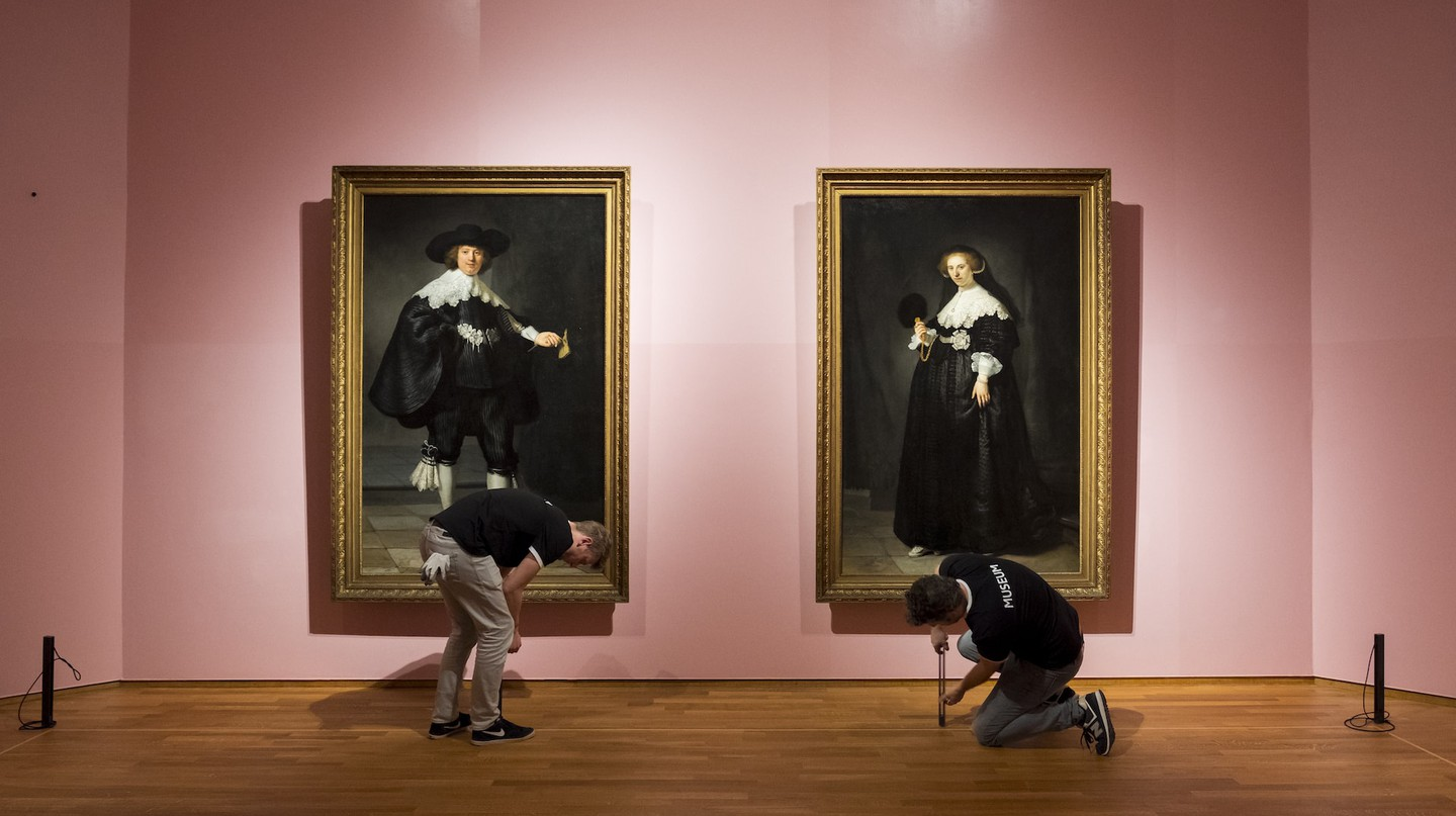 Portraits of Marten Soolmans and Oopjen Coppit, 1634 | Joint acquisition by the Dutch State and the French Republic, collection Rijksmuseum/collection Musée du Louvre, 2016. Photo: David van Dam