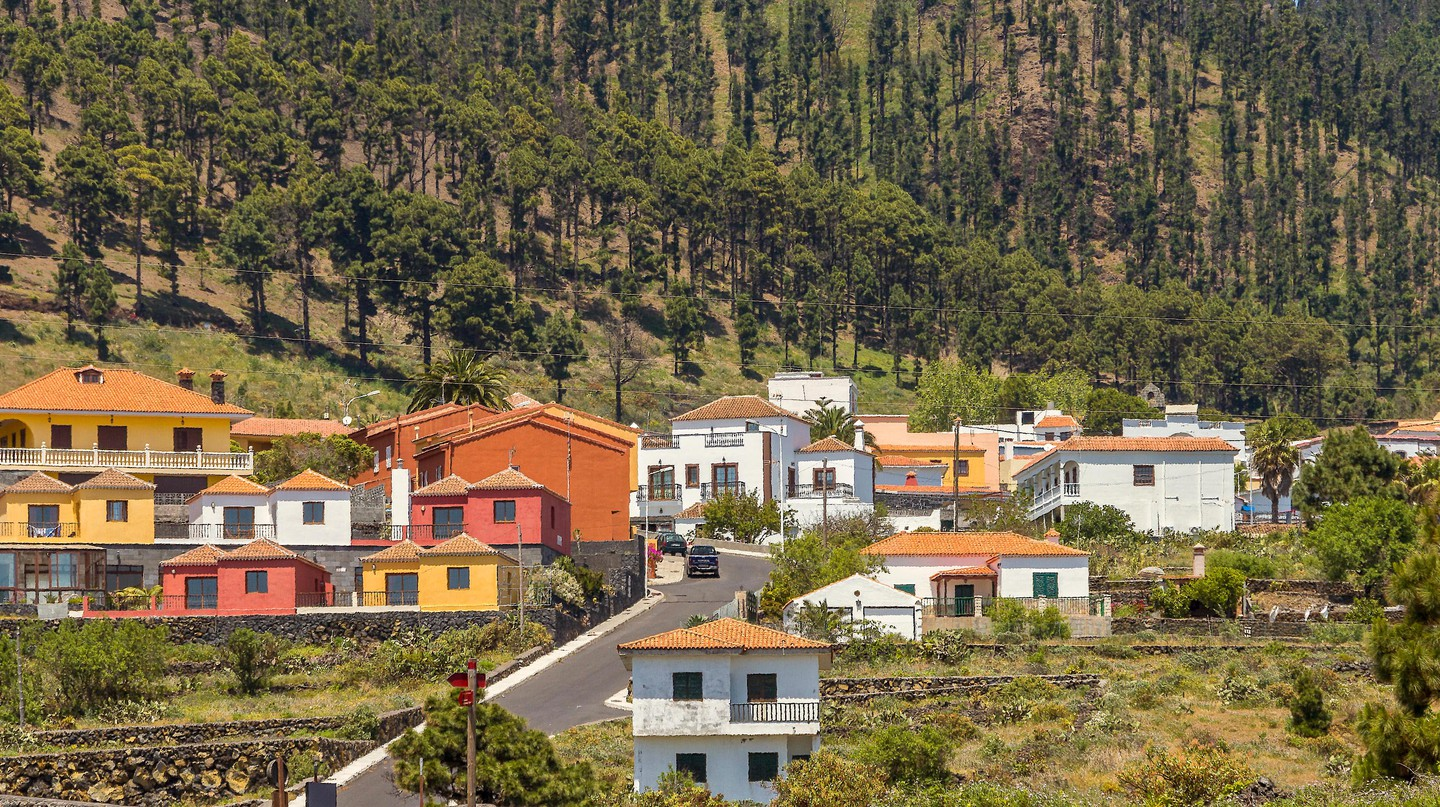 Village Of Fuencaliente, La Palma, Canary Islands.