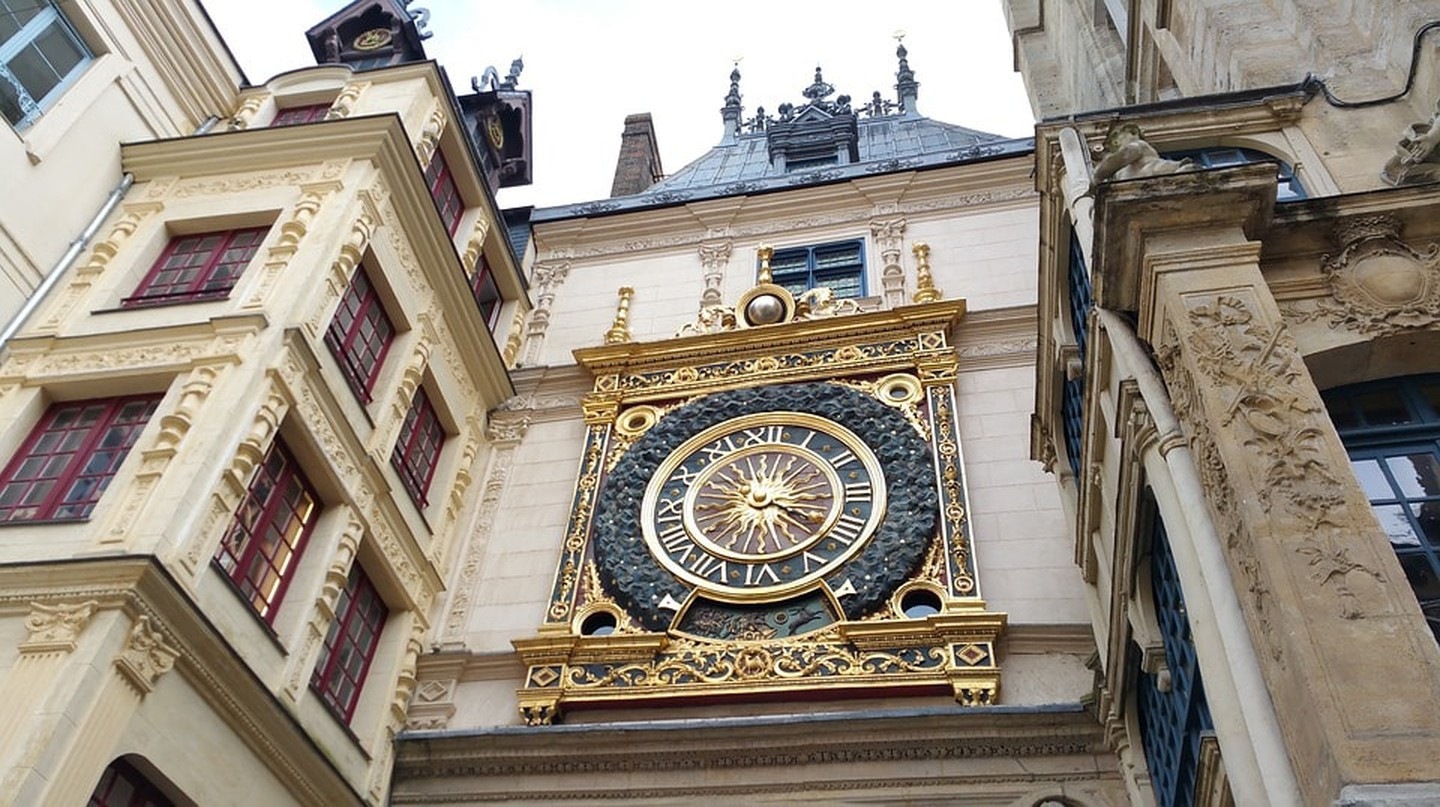 The famous Gros Horloge of Rouen