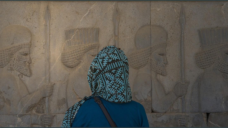 Woman at Persepolis | © Henrivh / Pixabay
