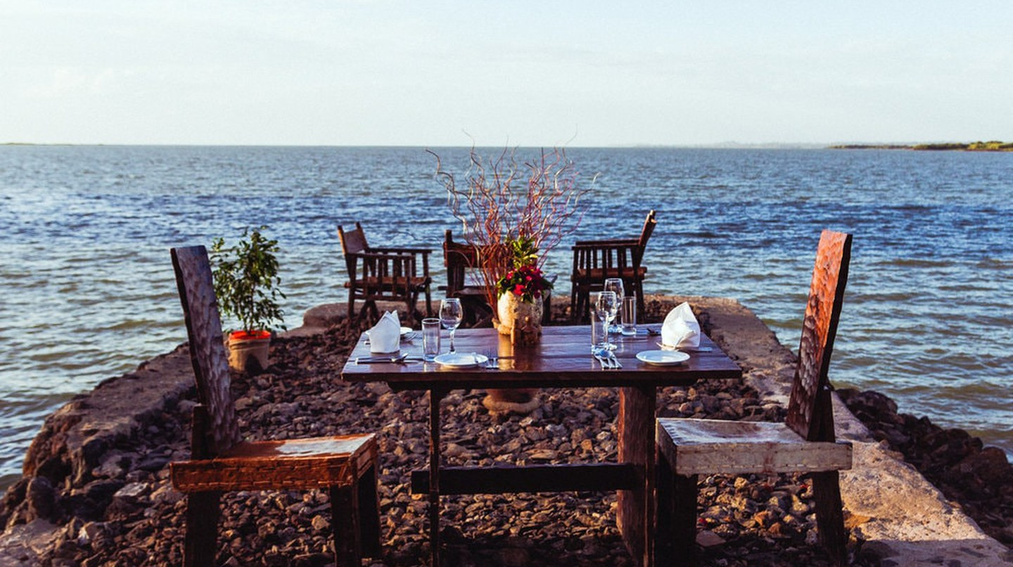 Dining by the largest lake in Ethiopia, Lake Tana