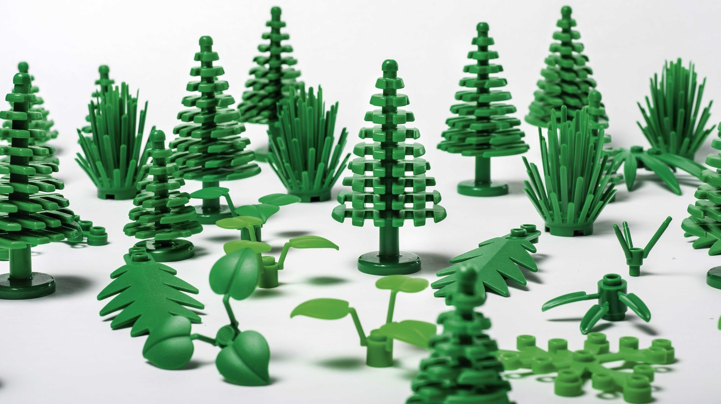 LEGO botanical elements