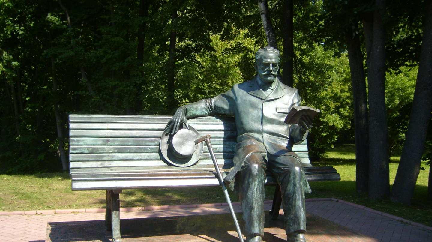 Sculpture of Tchaikovsky in Klin | © Wikimedia Commons