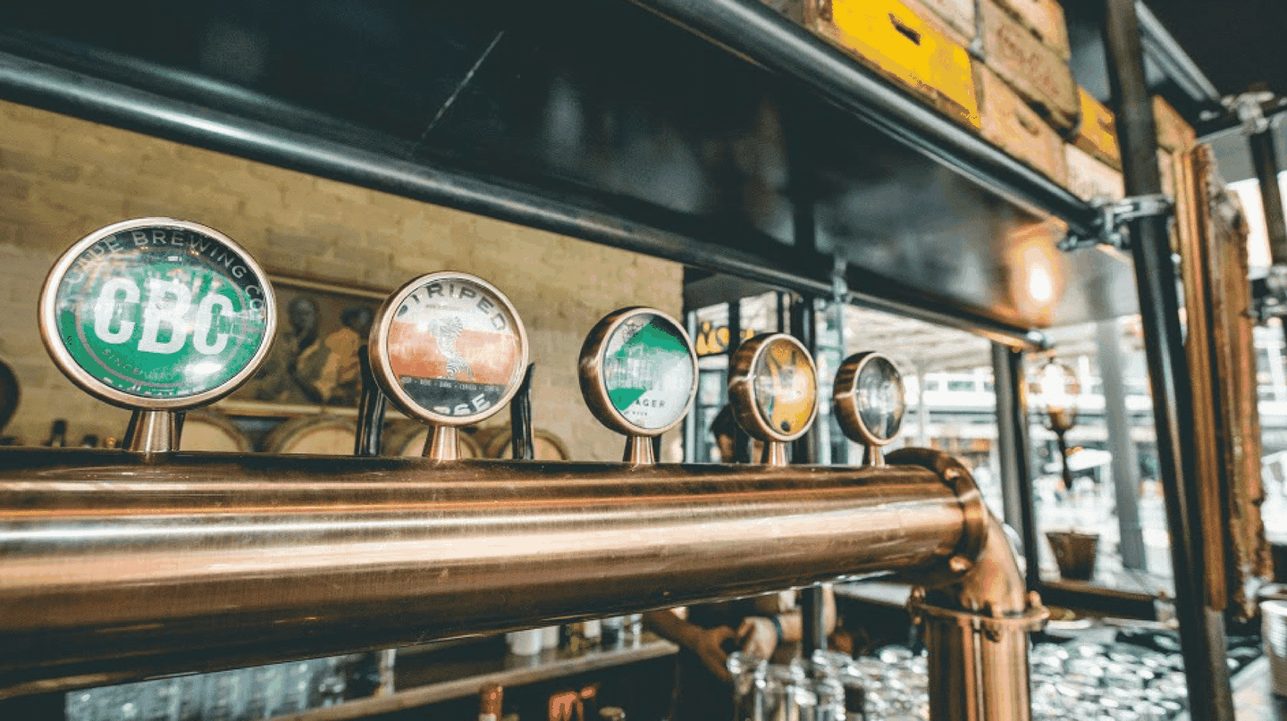 Grab a craft beer at Potato Shed in Newtown | Courtesy of Potato Shed