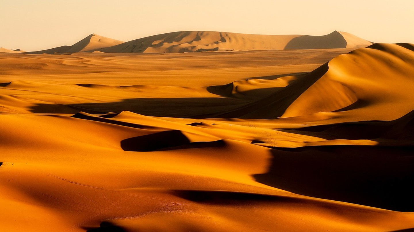 The dunes of Huacachina, Ica