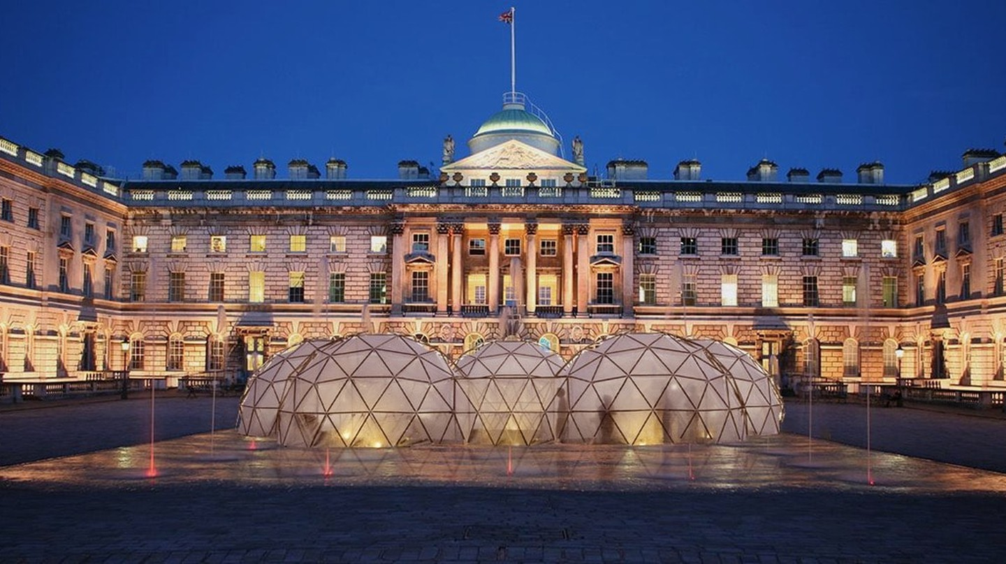 Pollution Pods render Somerset House