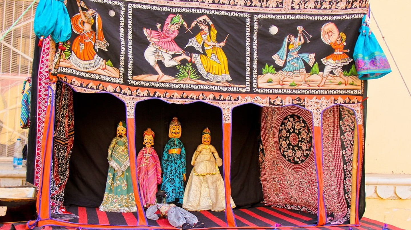 Kathputli or puppetry dance is a crowd favourite folk dance from Rajasthan