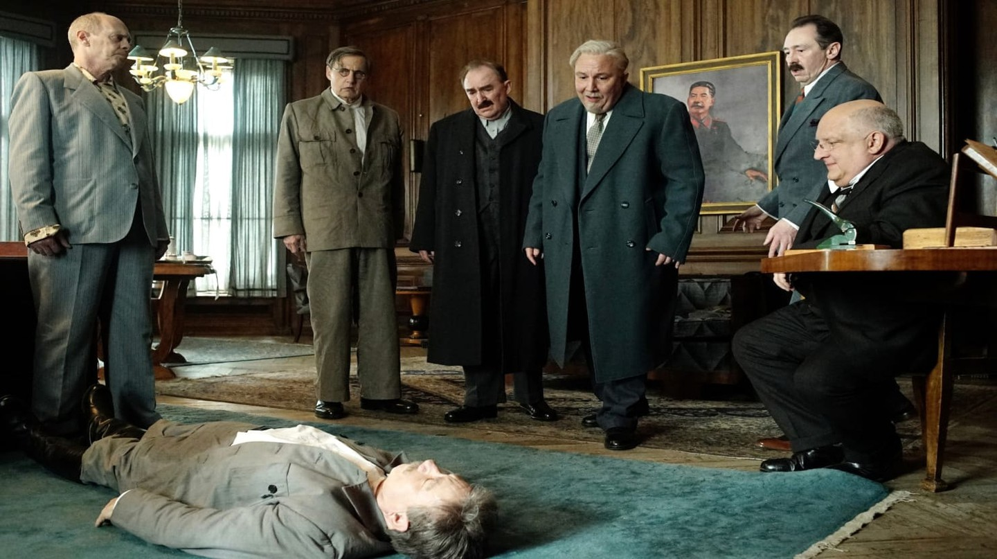 Steve Buscemi and Jeffrey Tambor in The Death of Stalin