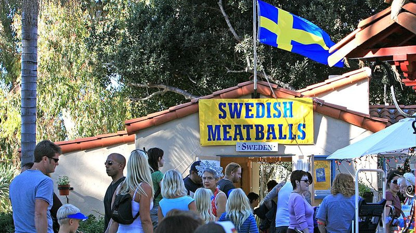 Meatballs are a staple of Swedish food | © Bengt Nyman / WikiCommons