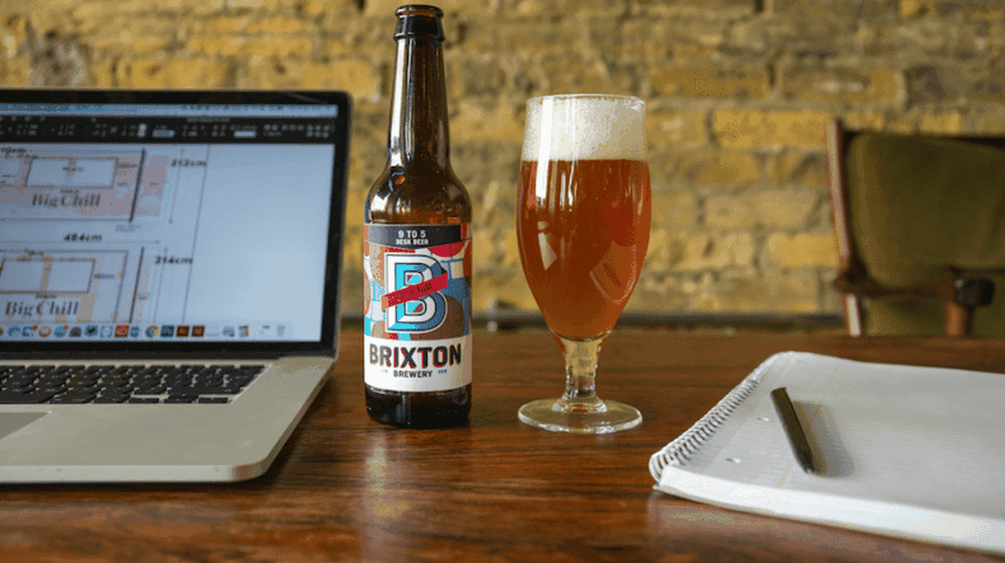 9 To 5 Desk Beer