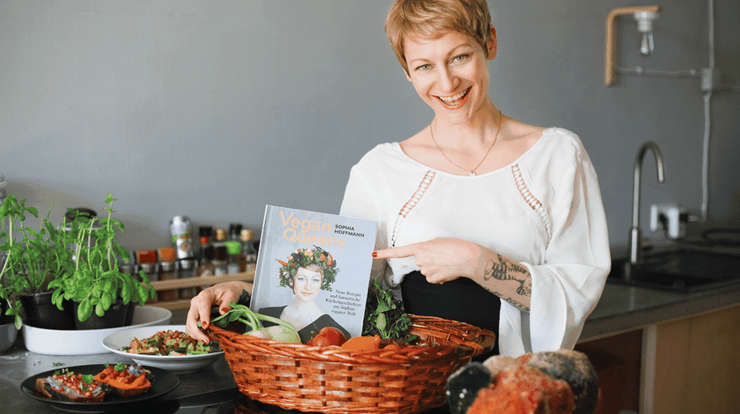 Sophia Hoffmann is Berlin's favourite vegan chef |  © Sophia Hoffmann and Julia Rommel of Mehr als PR