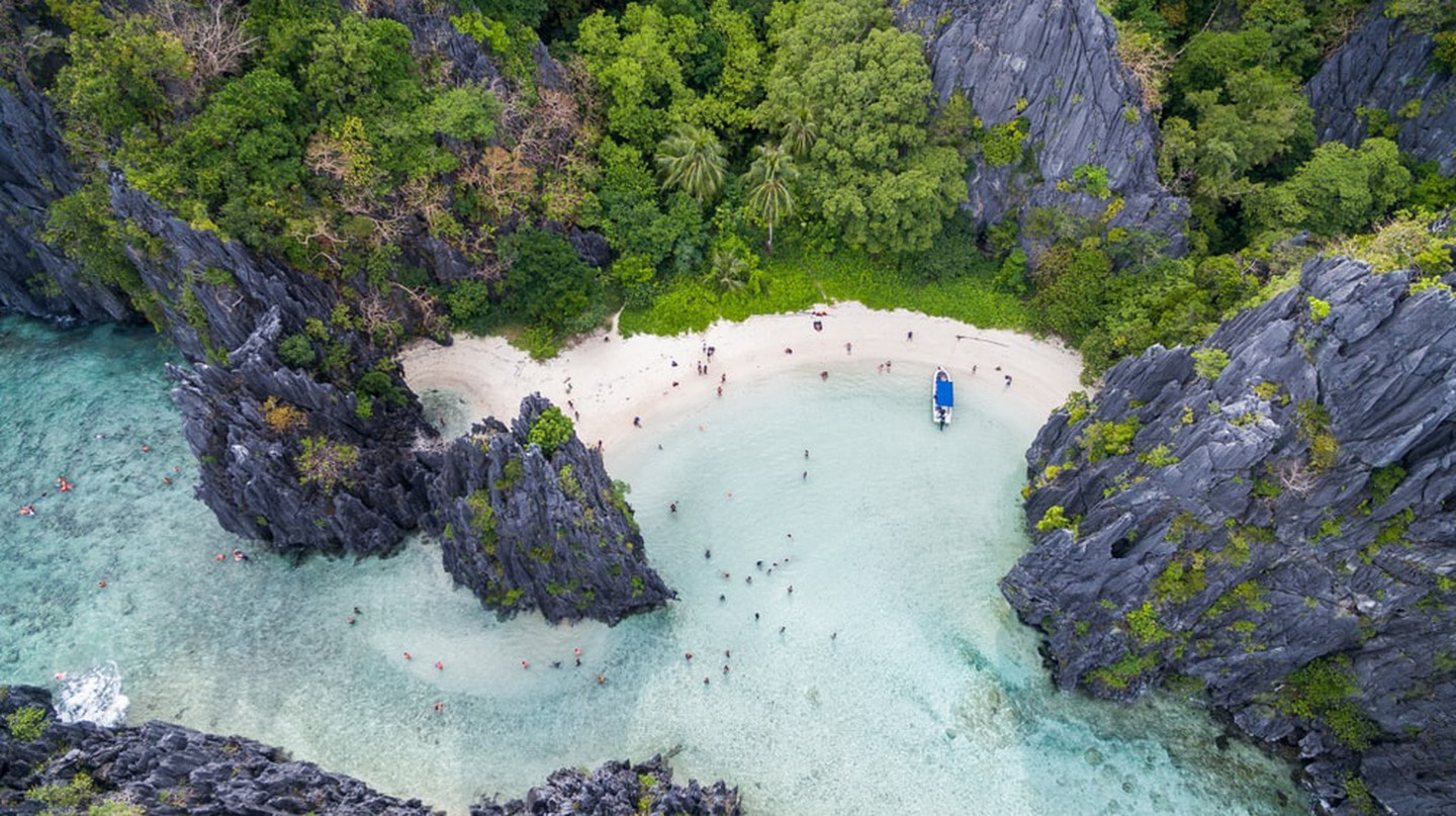 Hidden Beach, El Nido
