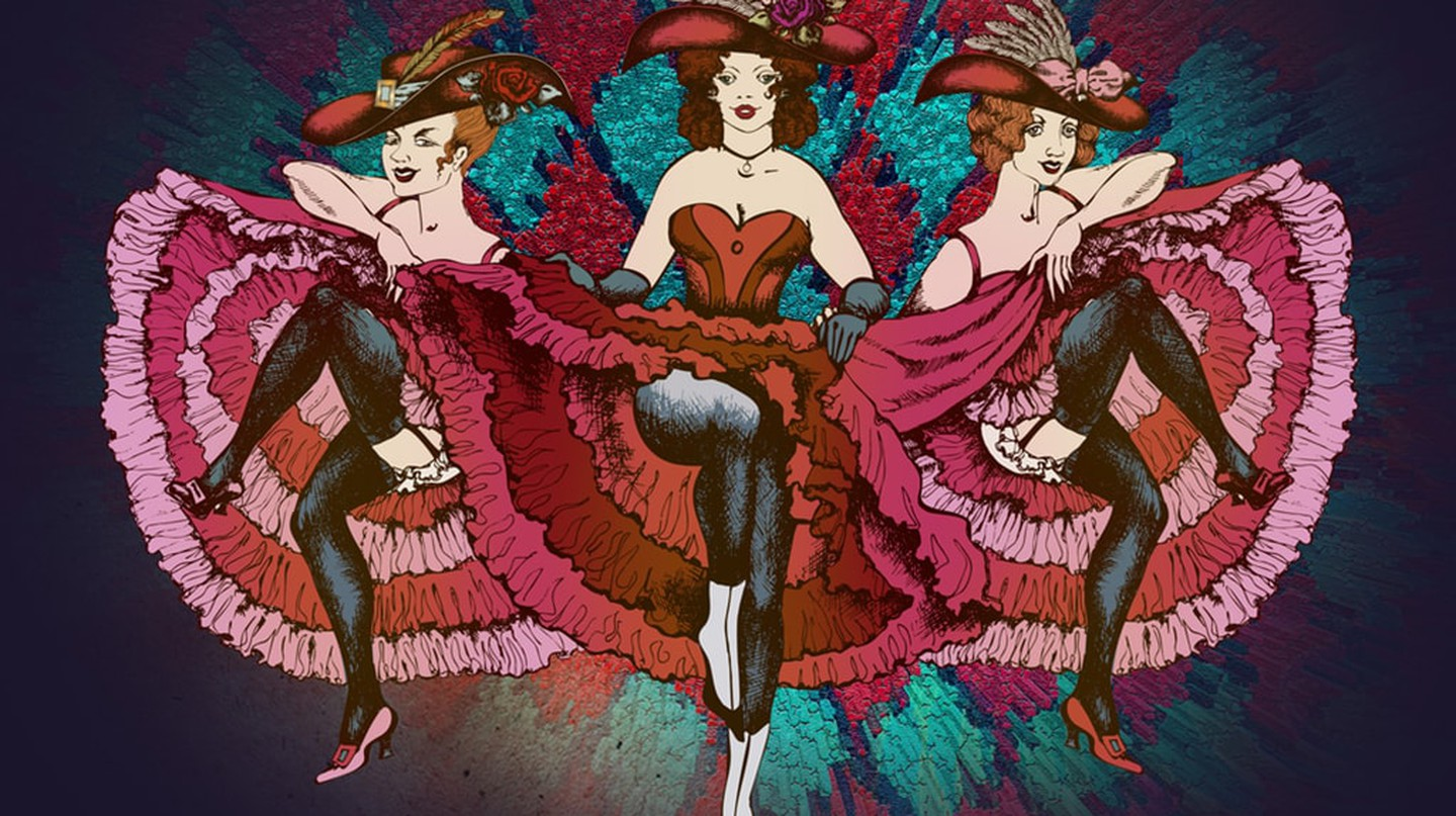 The cancan was considered scandalous in 19th-century Paris |© truhelen/Shutterstock