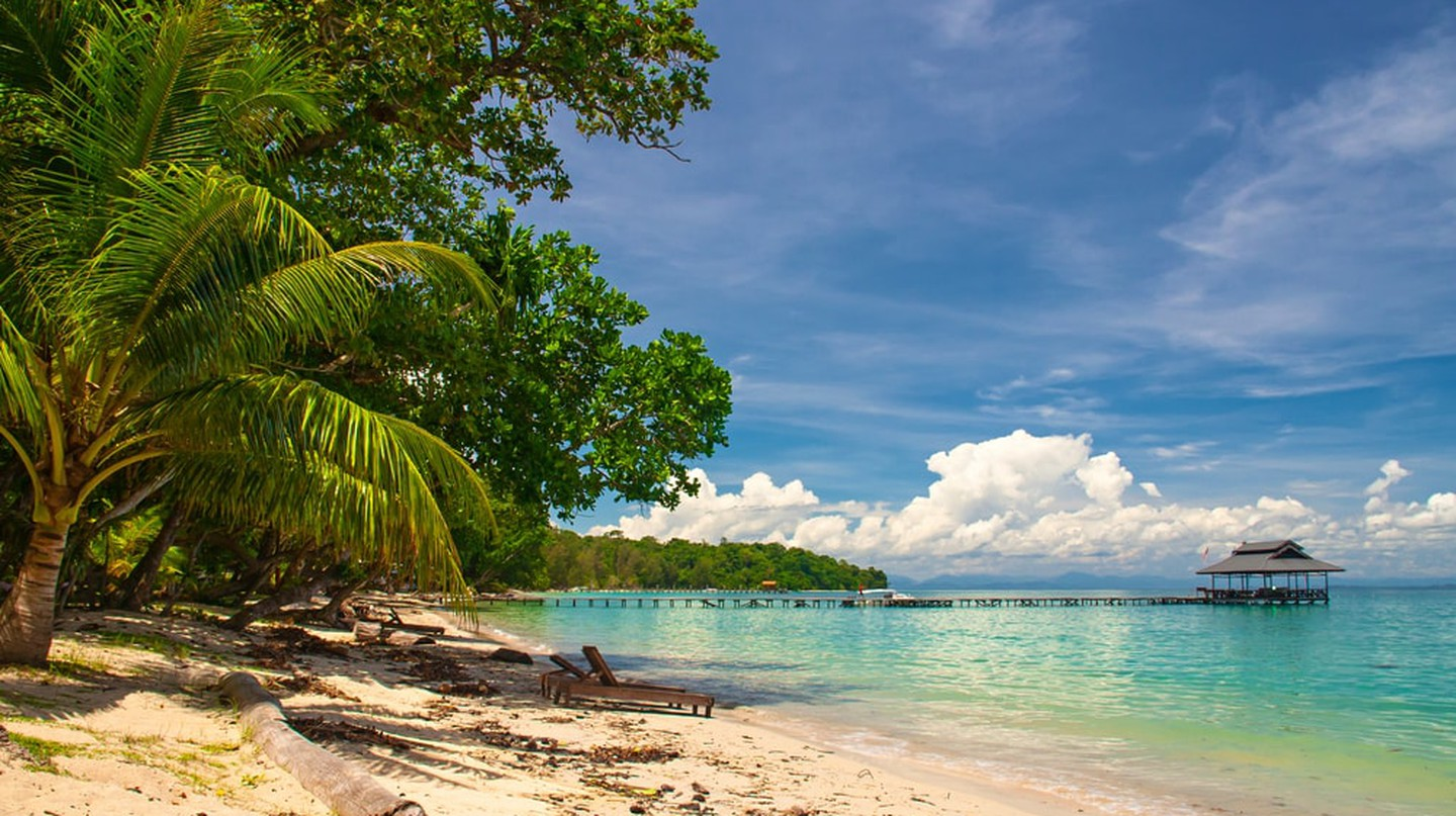 An island that was made famous by the American reality TV show, Survivor