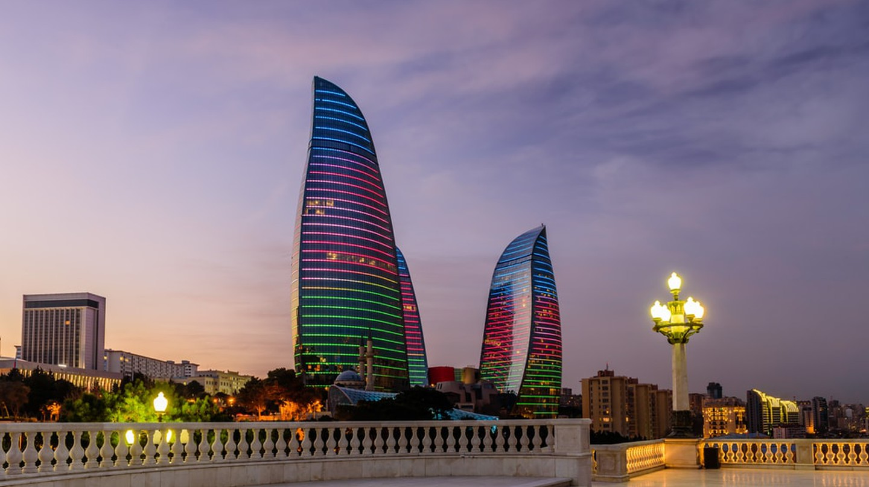Flame Towers in Baku on the night | © RAndrei / Shutterstock