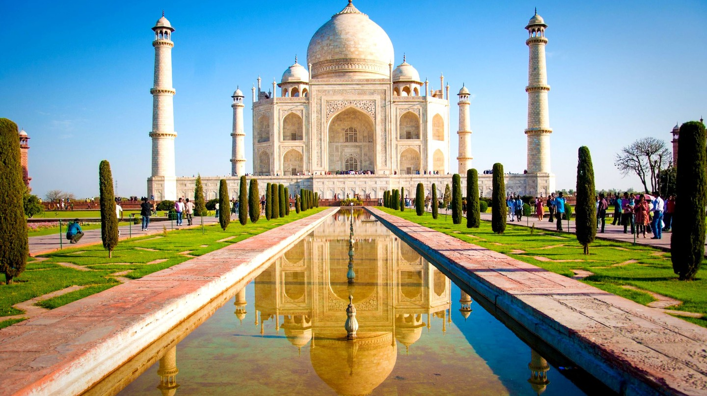 Taj Mahal, an iconic symbol of love