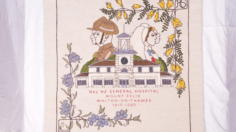 Title Panel:No.2 New Zealand General Hospital – Walton on Thames (1915-1920)