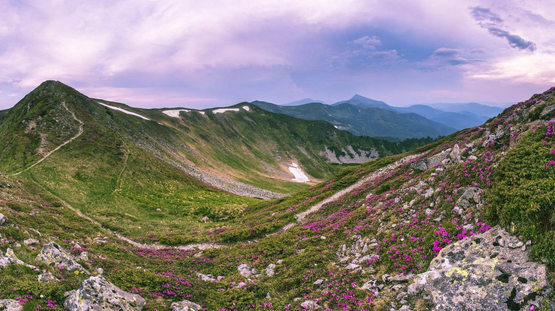 The most beautiful ridge in the Carpathians