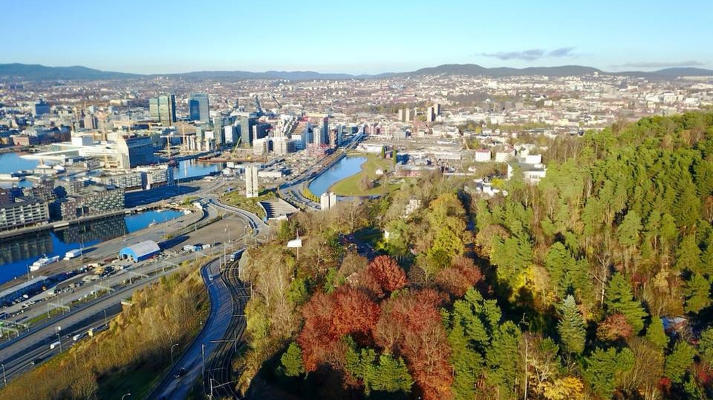 View of Oslo from Ekeberg Park