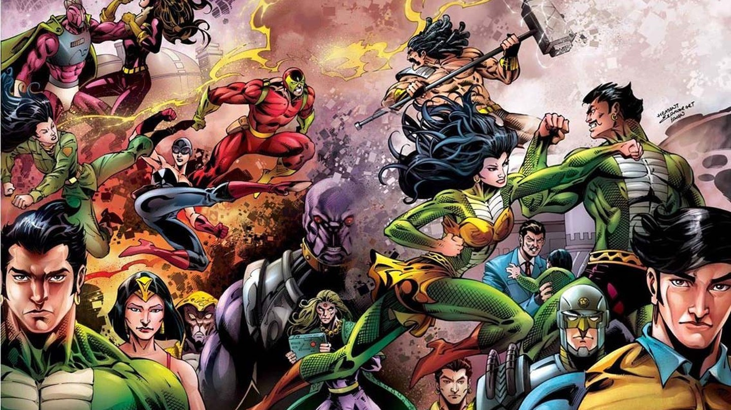 Raj Comics has created some of the most iconic Indian superheroes