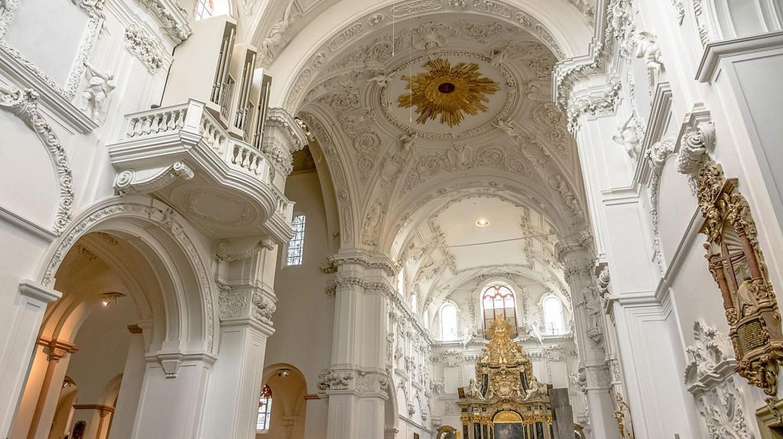 Inside Würzburg Cathedral