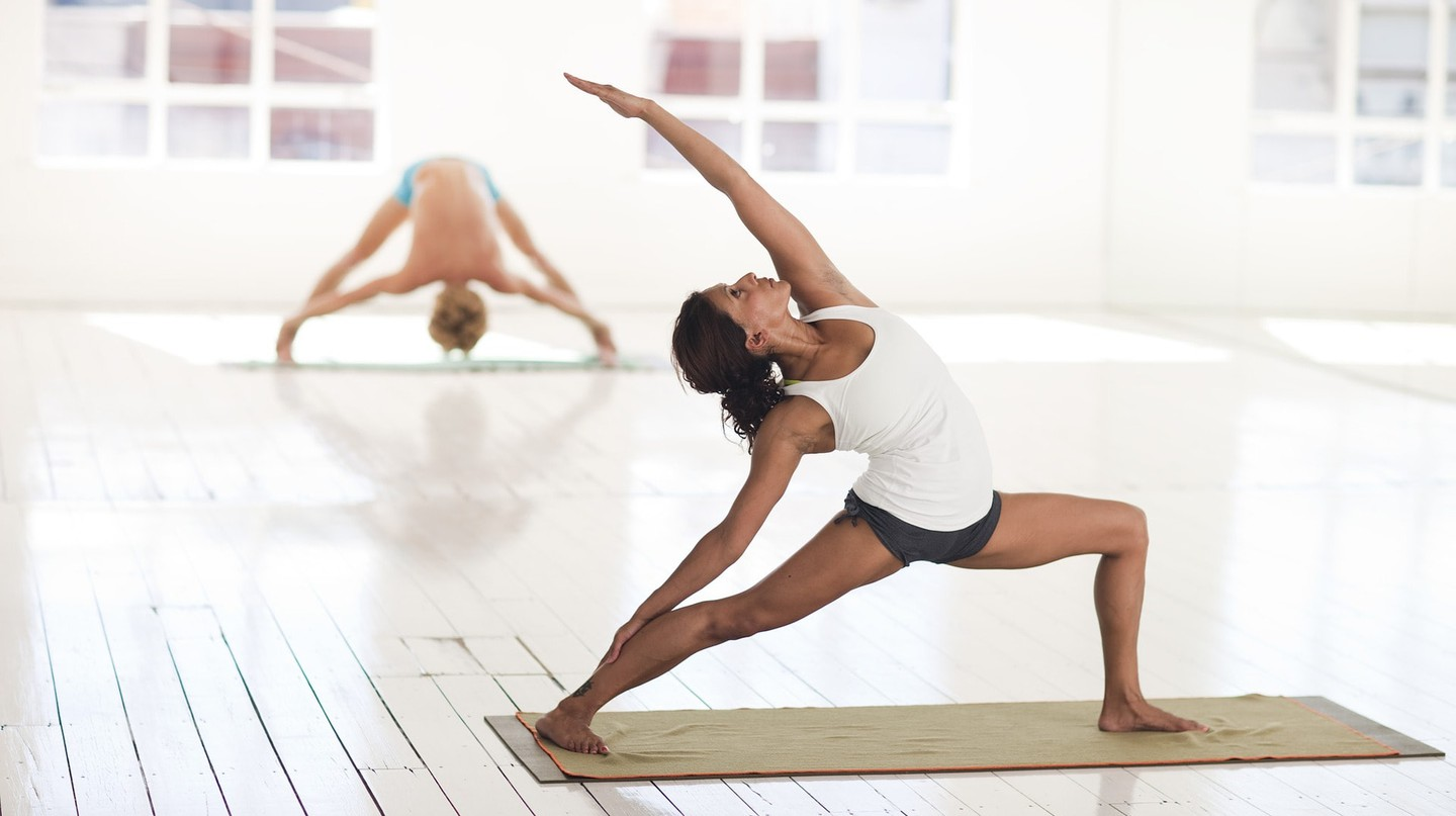 Attend a yoga class at Sofitel's sports centre