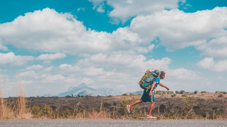 Zolati skating his way through Africa