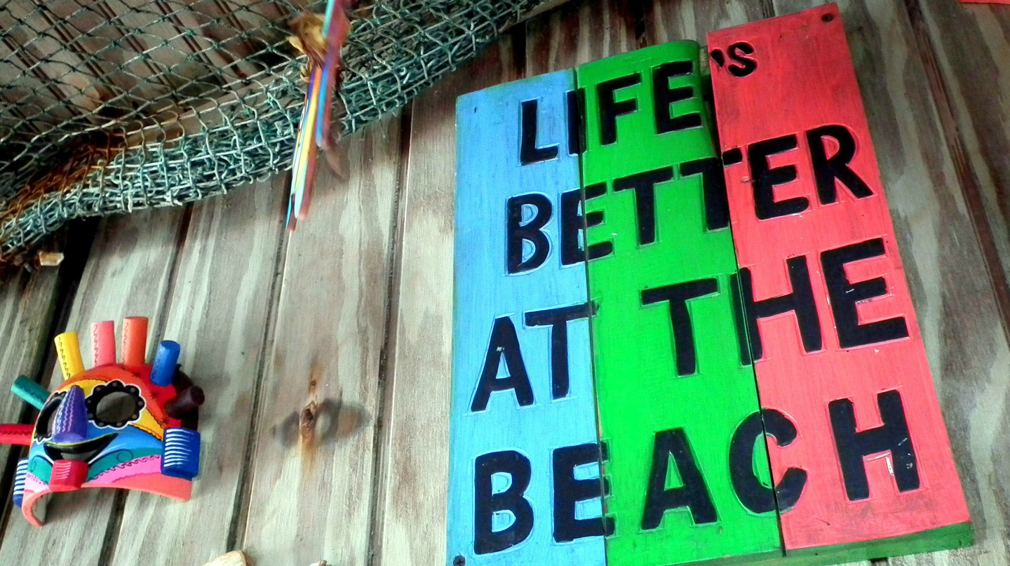 Beach Bar in Colombia