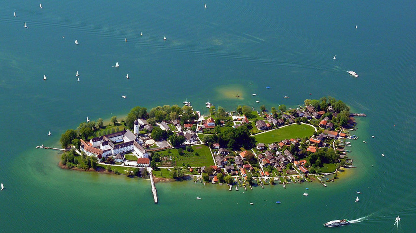Fraueninsel from above
